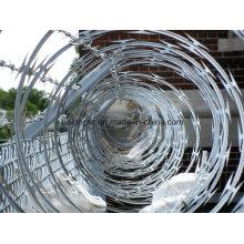 Razor farpado fio de ferro ferro fio/Concertina