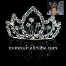 rhinestone crystal tiaras