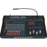 Stage Lighting Controllers, Stone 1024 Dmx Controller With 8 Faders, 4 Banks