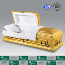 2015 de cercueil en bois de Style américain de New LUXES or couleur cercueil
