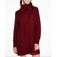 17PKCS310 2017 tricot laine Cachemire tricoté chandail de dame
