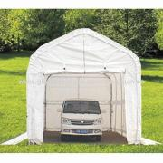 Car Shelters with Galvanized Steel Frame, PVC Cover