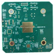 placa de soldadura verde pcb teclado pcb placa