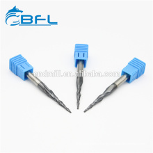 BFL Solid Carbide 2 Flute Tapered End Mills Ball Nose End Mill