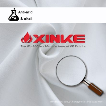 poliéster algodão anti ácido alcalino resistente tecido antibacteriano comércio