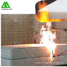 resistente al fuego poliéster (viscosa) guata con BS5852 para el futuro