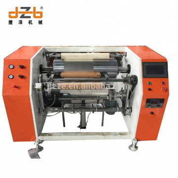 Two Station Rewinding Shaft Aluminium Foil Roll Machine