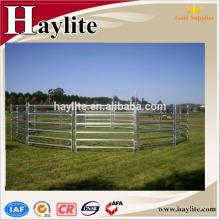 гальванизированная портативная конюшня панели для продажи
