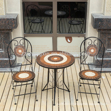 portable royal garden outdoor furniture mosaic table set