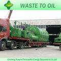 Resíduos na linha de produção de reciclagem de pirólise de riqueza