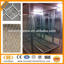 50mmx50mm galvanized & pvc diamond wire mesh fence