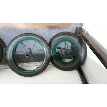 Wb3800 cor verde com 13 * 3 Rubber Solid Wheel Africa Wheelbarrow