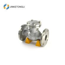 JKTLPC111 válvula de retención roscada de cierre suave de acero inoxidable