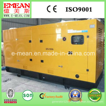 30kva к 500kVA Молчком Тепловозный генератор с двигателем CUMMINS
