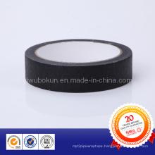 Economic Black Crepe Masking Paper Tape