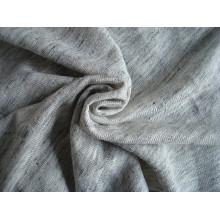 Tissu en jersey simple en lin de lin