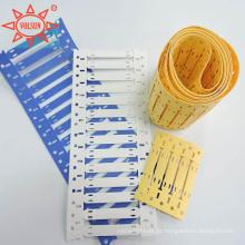 Etiquetas feitas sob encomenda do tubo do psiquiatra do calor, marcador de identificaço para a isolaço