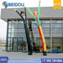 Traje del tubo del cielo Publicidad Bailarines inflables del aire Bailarín inflable del cielo