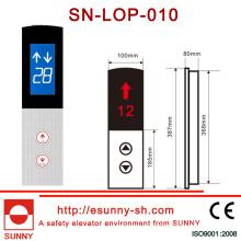Panel de acero inoxidable para elevador (SN-LOP-010)