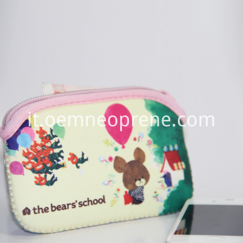 Alt Neoprene Kids Coin Purse