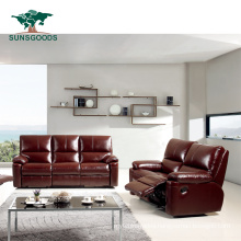 Home Theatre Recliner Chesterfield Sofa Leather Living Room Sofas Furniture