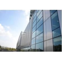 Vidrio y pared de cortina de aluminio
