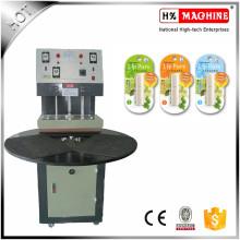 Petite machine de cachetage de la chaleur d'emballage de carte de boursouflure