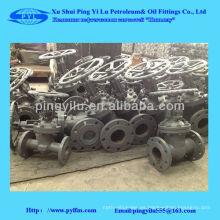 Válvula de compuerta de acero al carbono
