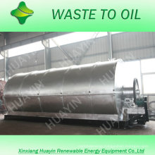 Green technology waste tire recycling plant with carbon black to briquette technology