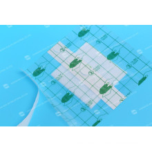 Rolo de curativo transparente de poliéster descartável de 7,5 cm x 10 m