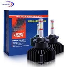High Technology M9 LED Headlight Interfaces with The Original Car HID Ballast Afs D1d2d3 LED Car Headlight 100% Decoding