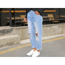 Calça jeans de moda feminina