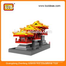 Atacado LOZ Fabricação Daming Palace diamante blocos de construção brinquedos educativos criança (Item No.9373)