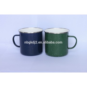 Colorful fashionable charactor promotional design high quality logo customized enamel cup&mug