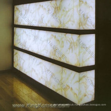 Decoration Royal Artificial Marble Light Translucent Stone