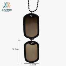 Good Quality Wholesale Custom Blank Dog Tag with Rubber