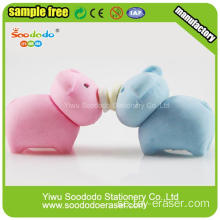 Hetaste Selling Fancy Pig Shaped Söt Eraser