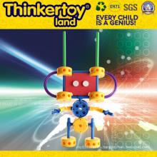 Juguete plástico del juguete del bloque de edificio del producto de DIY
