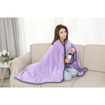 CE, ROHS Approved Large Heated Blanket With LCD Control 130X180cm