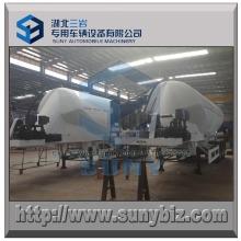 Conoid Shape Cement Tanker 40000L Dry Bulk Tank Trailer