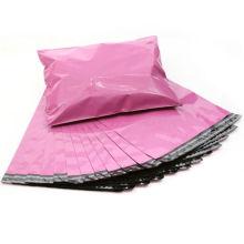 Sacs imprimés de transporteur de vêtements de feuille de poly pour l'emballage