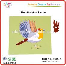 Montessori Puzzle - Vogelpuzzle