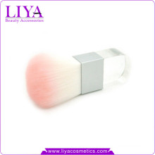 Beauty Product Logo Accepted Acrylic Handle Square Kabuki Brush