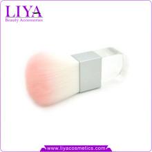 Логотип продукта красоты принял кисти Кабуки акриловой ручкой квадрат