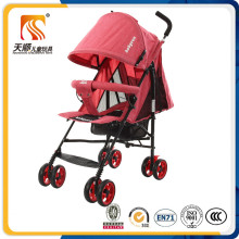 Wholesale En1888 Approved Cheap Baby Buggy Stroller with 8 EVA Wheels