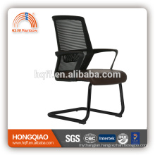 CV-B212BS-1powder coating base fixed nylon armrest mid mesh back office chair