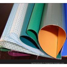 PVC à base de bâche transparente à usage agricole / PVC Mesh Tarpaulin