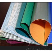 PVC Transparent Tarpaulin for Agricultural Use/PVC Mesh Tarpaulin
