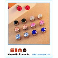 Modischer starker magnetischer Ohr-Nagel für kein durchbohrtes Ohr