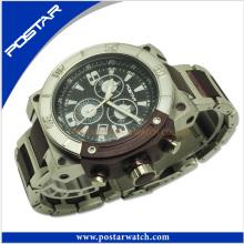 Mutifunction cronógrafo de alta qualidade relógio de pulso de quartzo psd-2803